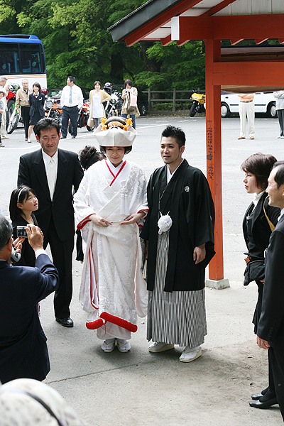 wedding at Kirishima Jin Guu 2