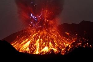 2015年5月8日  桜島大噴火